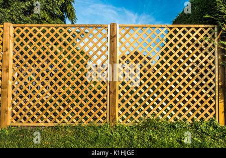 Wooden Fence Panels Stock Photo 47835481 Alamy