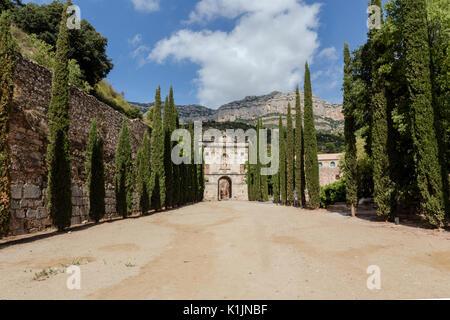 Scala Dei Chartusian monastery - Stock Photo