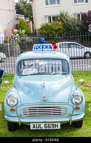 Vintage,car,heritage,retro,display,show,by Swansea, Historic,Vehicle,Register,SHVR,held,in, Carmarthen,Carmarthenshire,Wales,U.K.,UK,Europe, - Stock Photo