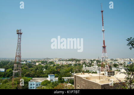 View of Hyderabad from the GP Birla Centre