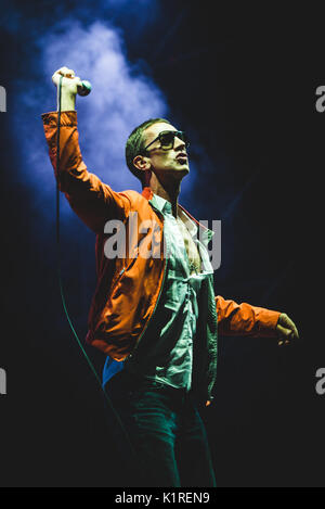 Torino, Italy. 26th Aug, 2017. Richard Ashcroft performing live on stage at the TODays Festival in Torino. Credit: - Stock Photo