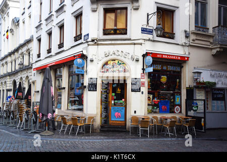 Au brasseur Brussels - Stock Photo