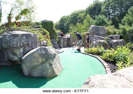 Day of Mini Golf - Stock Photo