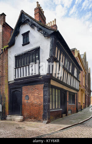 The Cottage, 22 Bayley Lane, Coventry Early 16th century grade II listed building - Stock Photo