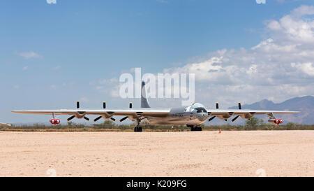 Airplane, Pima Air & Space Museum (PASM), Tucson, Arizona, USA - Stock Photo