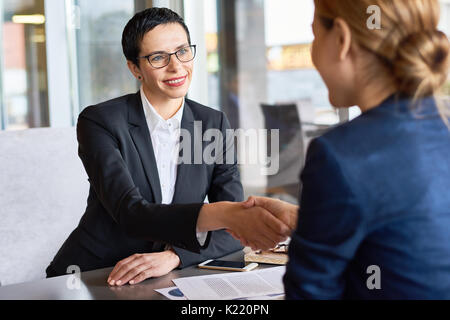 Successful Negotiations Completion - Stock Photo