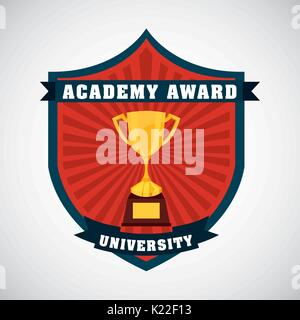 academic award design  - Stock Photo