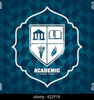 academic award design  - Stock Photo