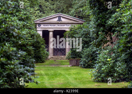 Ohlsdorf Cemetery in Hamburg, Germany - Stock Photo
