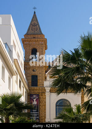 CADIZ, SPAIN:  Virgin de la Palma Church - Stock Photo