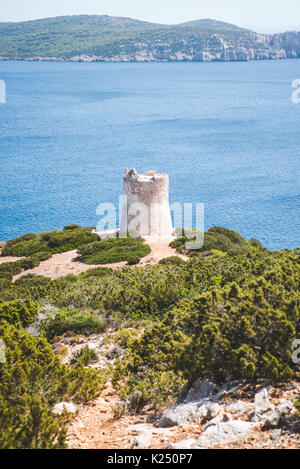 Sardinia, Italy. 20th Aug, 2017. The Sardinian sea and coast during summer period Photo: Alessandro Bosio/Pacific - Stock Photo