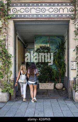 Corso Como 10 , Milano,Italy - Stock Photo