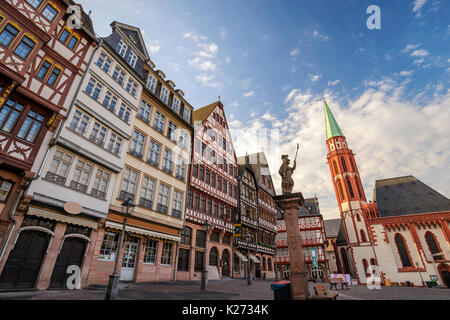 Romer (Frankfurt City Hall), Frankfurt, Germany - Stock Photo