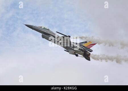 Belgian Air Component F-16 Fighting Falcon - Stock Photo