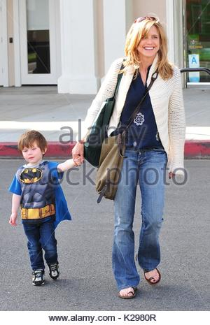 Courtney Thorne Smith and son, Jacob 'Jake' Emerson ...