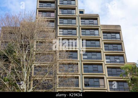 Sirius public housing building in The Rocks area of Sydney city centre,Australia - Stock Photo