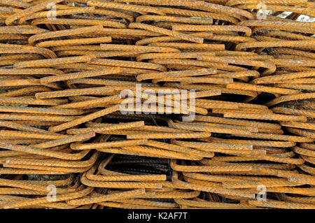 structural steel elements - Stock Photo
