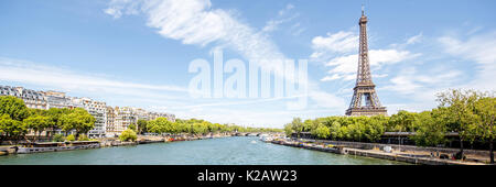 Cityscape view of Paris - Stock Photo
