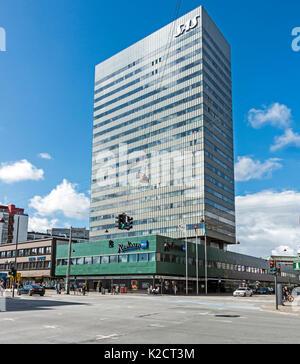 SAS Radisson Blu Royal Hotel on Vesterbrogade in Copenhagen Denmark Europe Stock Photo