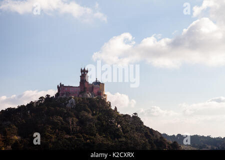 Pena National Palace in Sintra - Stock Photo