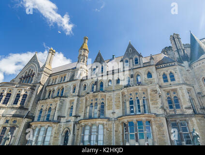 University of Aberystwyth in West Wales in UK - Stock Photo
