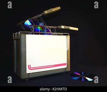 CD burner 1 - Stock Photo