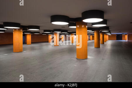 Messedamm underpass a popular location for making movies in Berlin Germany