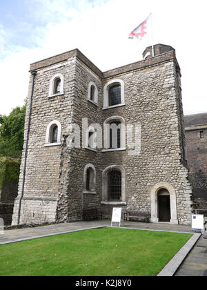 London, UK, 10th Aug, 2017. The Jewel Tower at Westminster in London - Stock Photo