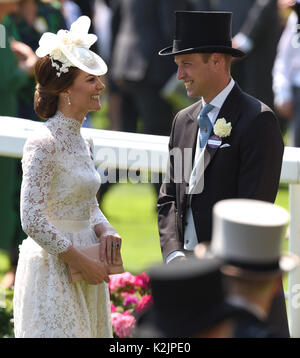 Photo Must Be Credited ©Alpha Press 079965 20/06/2017 Prince William Duke Of Cambridge Kate Duchess of Cambridge - Stock Photo