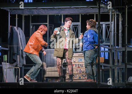 WWW.IANGEORGESONPHOTOGRAPHY.CO.UK Picture: La Boheme (opera), Festival Theatre  Opera's greatest, most heartbreaking - Stock Photo