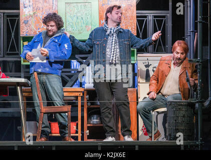 WWW.IANGEORGESONPHOTOGRAPHY.CO.UK Picture: La Boheme (opera), Festival Theatre  Opera's greatest, most heartbreaking - Stock Photo