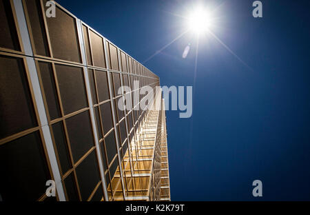 Trump Tower in Las Vegas on a hot summer afternoon - Stock Photo