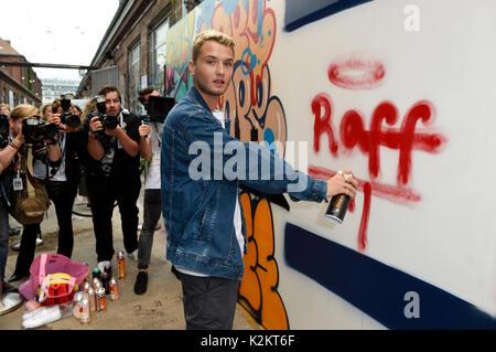 Rafferty Law, son of Jude Law, attends the Bread & Butter ...