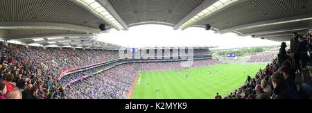 High Perspective in Croke Park - Stock Photo