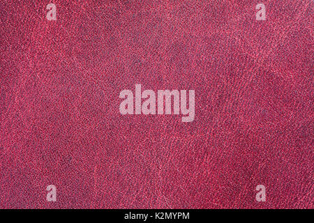 Violet leather texture pattern background. Macro view photo - Stock Photo