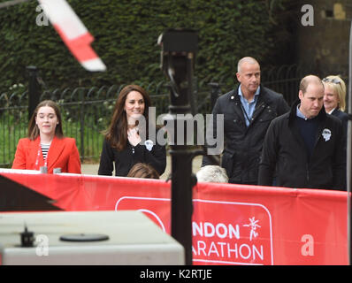 Photo Must Be Credited ©Alpha Press 079965 23/04/2017 Kate Duchess of Cambridge Katherine Catherine Middleton and - Stock Photo