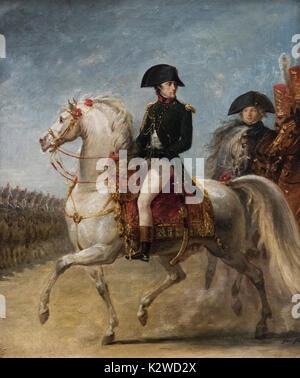 Antoine-Jean Gros (1771-1835), General Bonaparte reviewing Troops, ca. 1802/1803 - Stock Photo