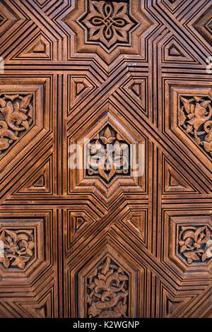 Granada, Alhambra, Hall of the Two Sisters (Sala de Dos Hermanas Stock Photo,...