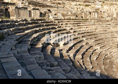 Amphitheatre of Miletus, Turkey - Stock Photo