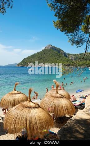 Cap Formentor Beach Majorca Mallorca Balearic Island Spain Espana EU European Union Europe - Stock Photo