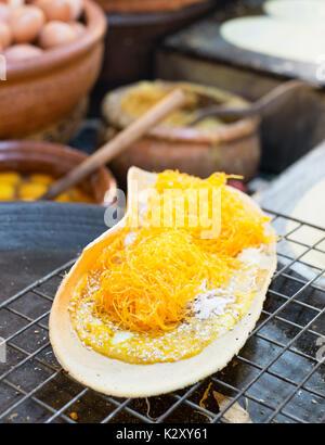 Thai Crispy Pancakes - Stock Photo