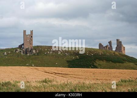 Dunstanburgh Castle - Stock Photo