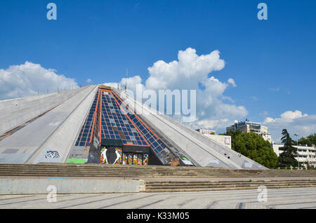 Tirana, Albania - Stock Photo