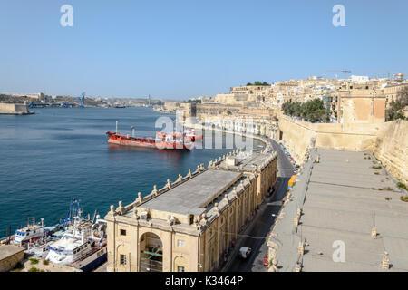 Grand Harbour - Stock Photo
