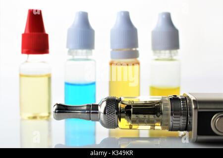 An image of a e cigarette - Stock Photo