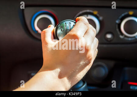 Car Switches Gears While Driving
