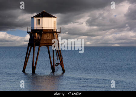 Disused Dovercourt Lighthouse - Stock Photo