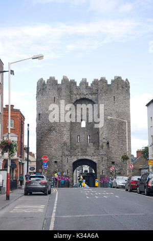 St. Laurence's Gate in Drogheda, County Louth, Ireland - Stock Photo
