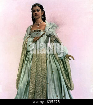 ANNE OF THE THOUSAND DAYS GENEVIEVE BUJOLD as Anne Boleyn ANNE OF THE THOUSAND DAYS      Date: 1969 - Stock Photo