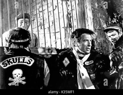 Devil's Angels, aka: Rebellen in Lederjacken, USA 1967, Regie: Daniel Haller, Darsteller: John Cassavetes - Stock Photo